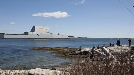 USS Zumwalt © US Navy