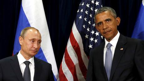 U.S. President Barack Obama and Russian President Vladimir Putin © Kevin Lamarque