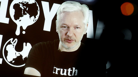 Julian Assange, Founder and Editor-in-Chief of WikiLeaks. © Axel Schmidt