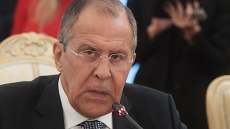 Russian Foreign Minister Sergei Lavrov © Grigoriy Sisoev