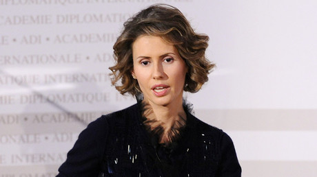 Asma Assad, the wife of the Syrian president Bashar Assad. © Miguel Medina