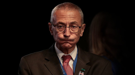 Democratic presidential nominee Hillary Clinton's Campaign Chairman John Podesta. © Drew Angerer / Getty Images
