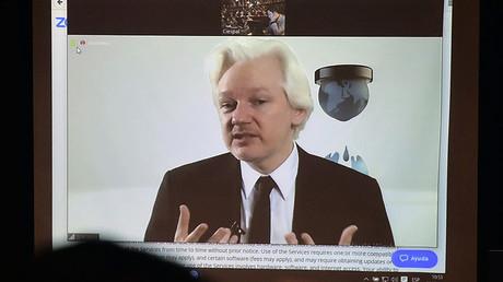 WikiLeaks founder Julian Assange. ©Rodrigo Buenida