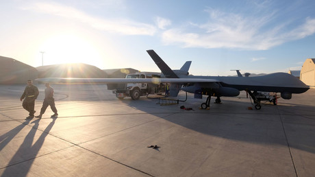 A U.S. Air Force MQ-9 Reaper drone © Josh Smith