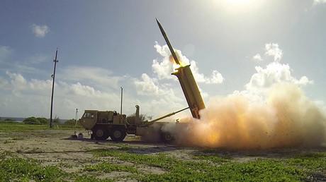 High Altitude Area Defense (THAAD) interceptor. © Ben Listerman / DoD