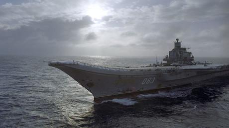 Admiral Kuznetsov aircraft carrier. ©Oleg Lastochkin