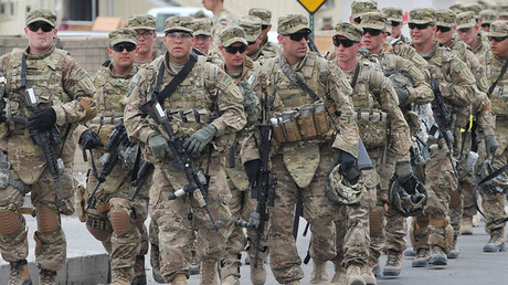 US Soldiers. © AFP