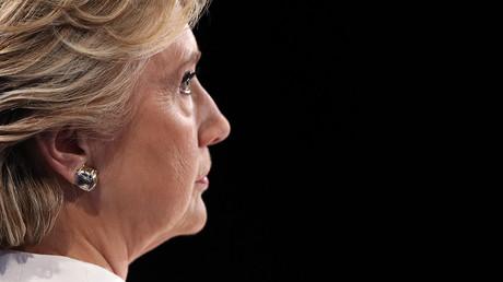 Democratic U.S. presidential nominee Hillary Clinton © Joe Raedle