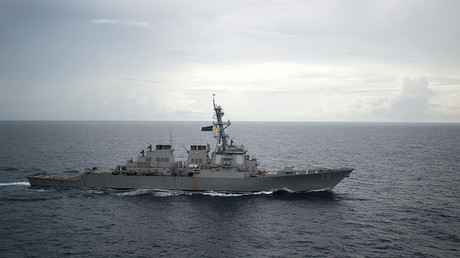 Guided-missile destroyer USS Decatur (DDG 73) © Diana Quinlan