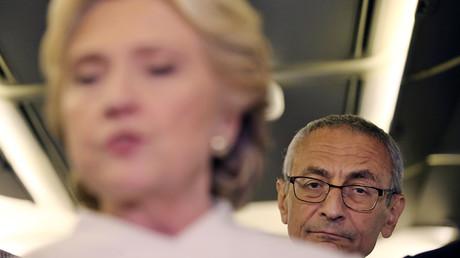 John Podesta, chairman of U.S. Democrat Hillary Clinton's presidential campaign © Carlos Barria