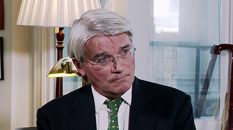 Former vice chair of the Conservative Party Andrew Mitchell © RT