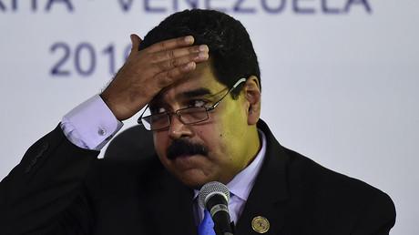 Venezuela's President Nicolas Maduro. © Ronaldo Schemidt