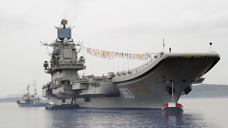 The Admiral Kuznetsov heavy aircraft-carrying cruiser © Sergey Eshenko