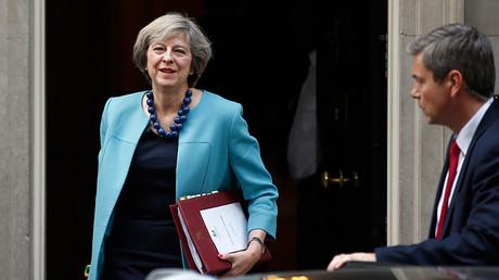 Britain's Prime Minister, Theresa May © Peter Nicholls