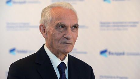 Former Turkish Foreign Minister Yasar Yakis at the 13th annual meeting of the Valdai International Discussion Club in Sochi © Nina Zotina