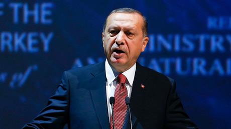 Turkish President Tayyip Erdogan. © Murad Sezer