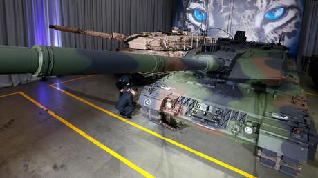Leopard 2A7 © Michaela Rehle