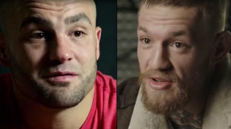 Eddie Alvarez and Conor McGregor © UFC - Ultimate Fighting Championship