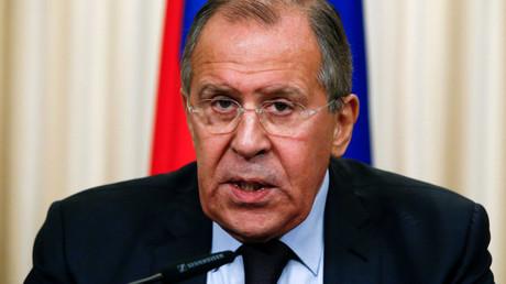 Russian Foreign Minister Sergei Lavrov © Sergei Karpukhin
