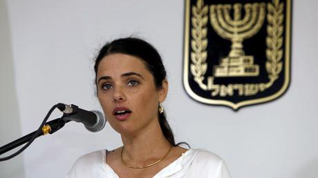 Ayelet Shaked, Israel's Justice Minister © Gali Tibbon
