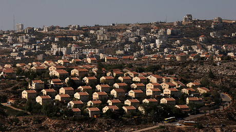 The West Bank Jewish settlement © Ronen Zvulun