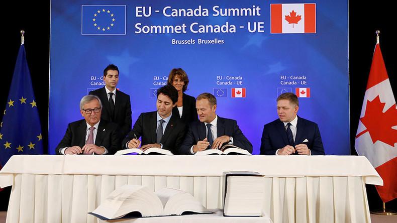 Canada, EU sign long delayed CETA trade deal RT — Boom Bust