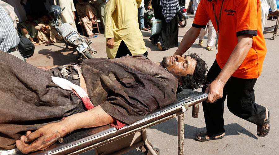 At least 12 killed, dozens feared trapped as blast hits oil tanker in Pakistan