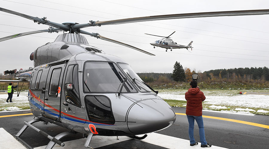 Russia signs China helicopter deal