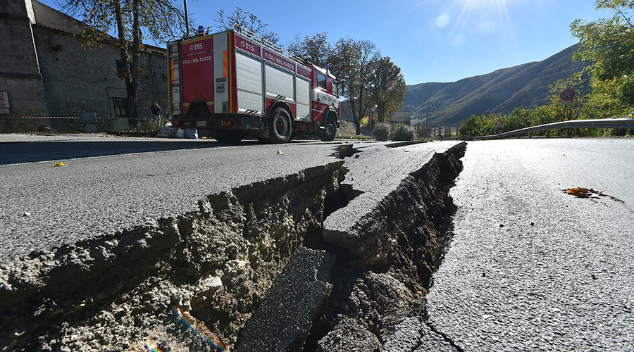 Italian earthquakes move ground by 70cm - scientists