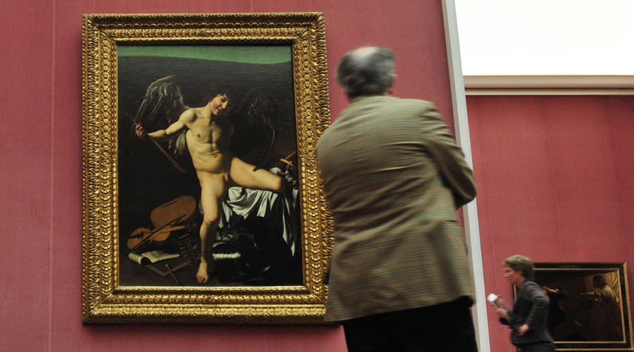 'Offense to history & art': Facebook censors Caravaggio's nude cupid painting