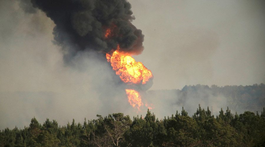 Alabama declares emergency over pipeline explosion