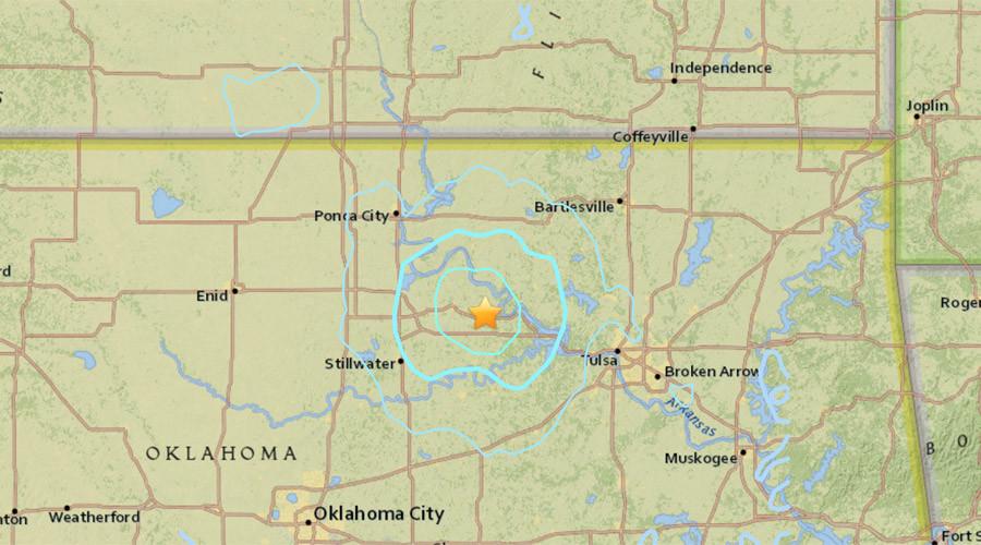 'Walls shaking': 4.5 quake strikes Tulsa, Oklahoma