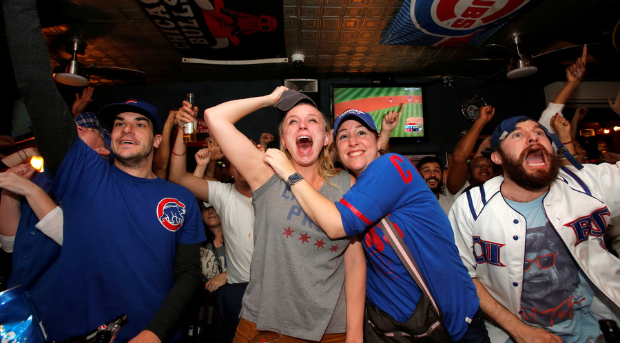 The Cubs last won the World Series in 1908. © Andrew Kelly