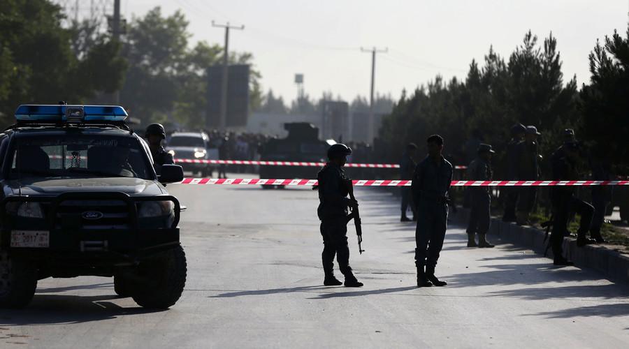 صورة أرشيفية: رجال الشرطة الأفغانية © عمر سبحاني