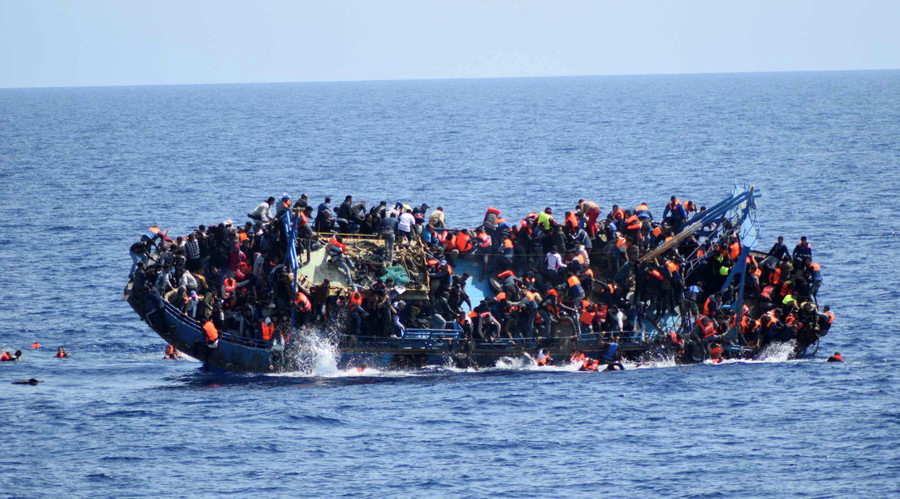 Up to 240 migrants drown in 2 shipwrecks off Libya coast
