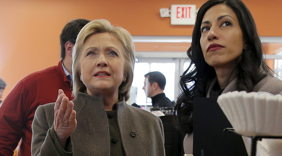 Hillary Clinton and Huma Abedin © Brian Snyder