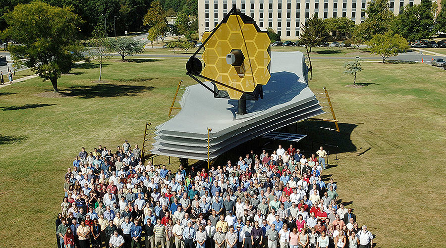 NASA's most advanced telescope complete after 20 years (PHOTO)