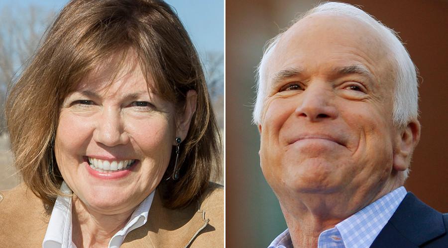 Arizona: Representative Ann Kirkpatrick (D) vs. Senator John McCain (R, incumbent) © state.gov / Reuters