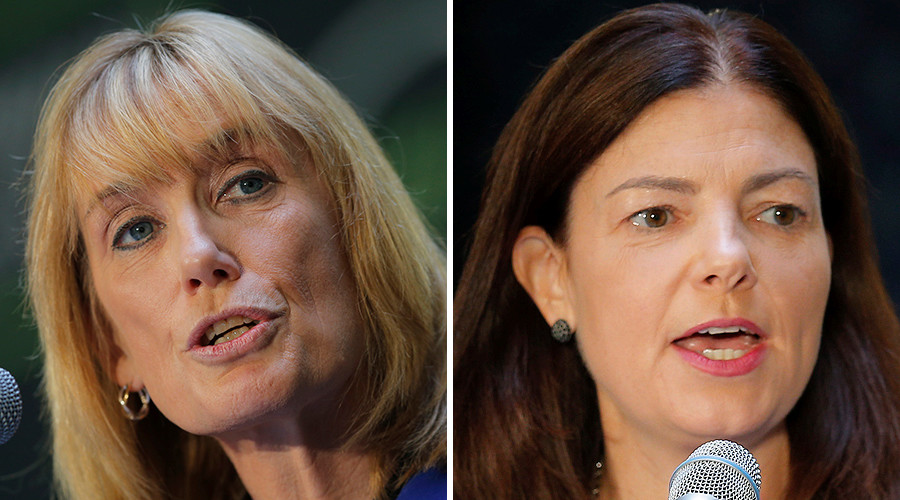 New Hampshire: Governor Maggie Hassan (D) vs. Senator Kelly Ayotte (R, incumbent) © Reuters