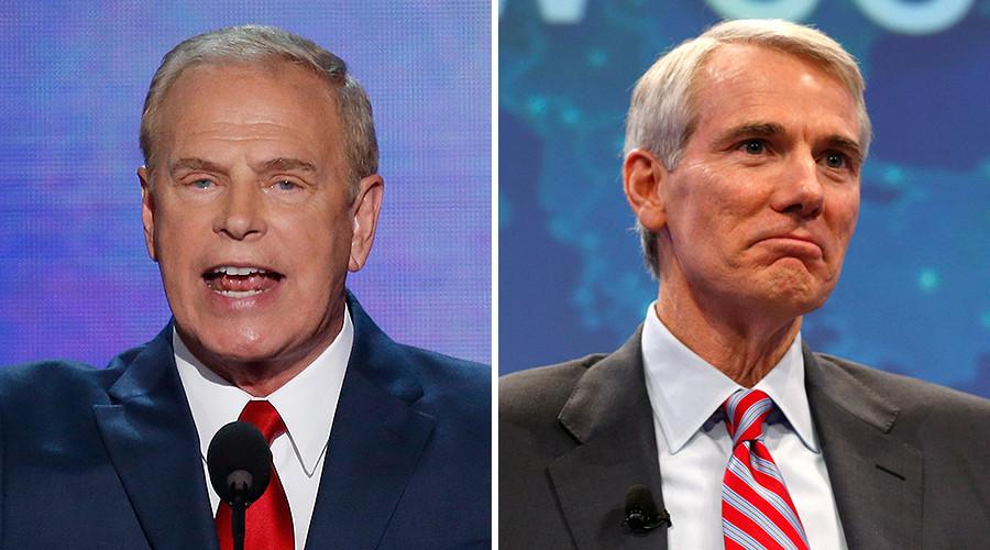 Ohio: former Governor Ted Strickland (D) vs. Senator Rob Portman (R, incumbent) © Reuters
