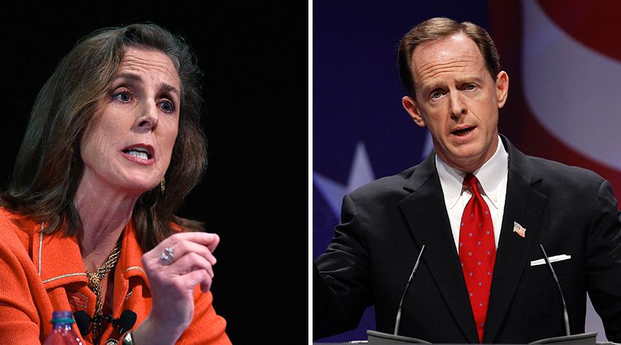 Pennsylvania: Katie McGinty (D) vs. Senator Pat Toomey (R, incumbent) © Reuters