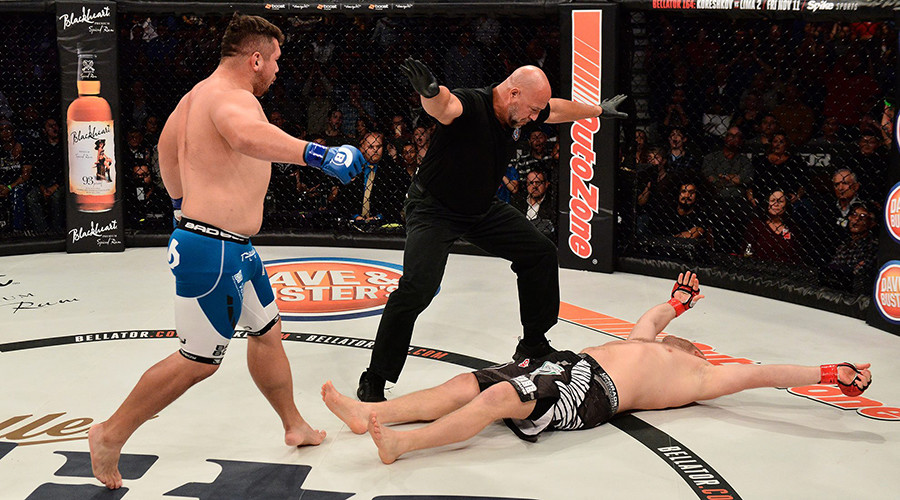 Russian MMA veteran gets KO'd 16 seconds in his Bellator debut (VIDEO)