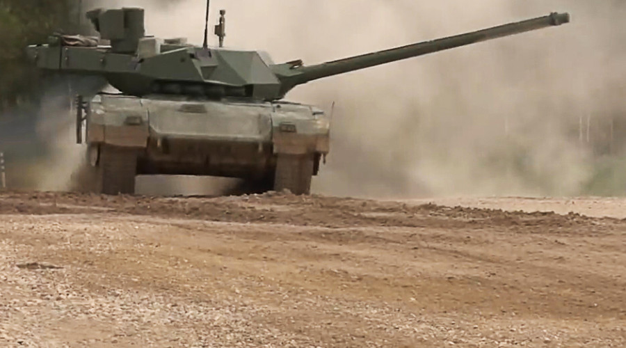 UK military threatened & amazed by Russia's 'revolutionary' Armata tank – leak