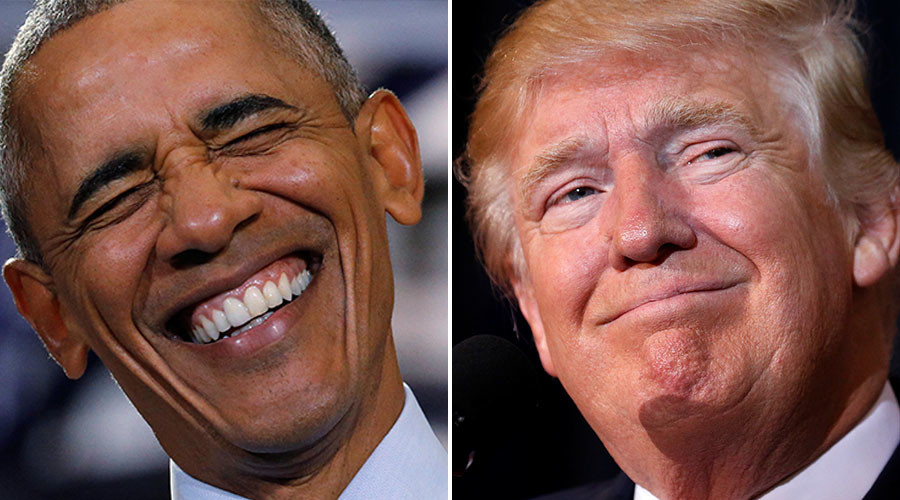 Obama ridicules Trump's social media 'severance' (VIDEO)