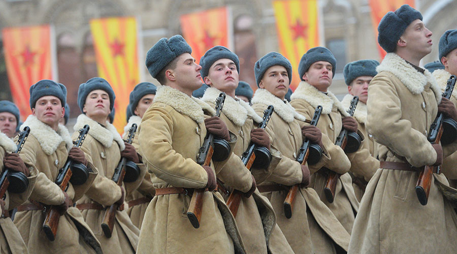 Thousands of soldiers march in Moscow for WW2 parade's 75th anniversary (PHOTOS, VIDEO)