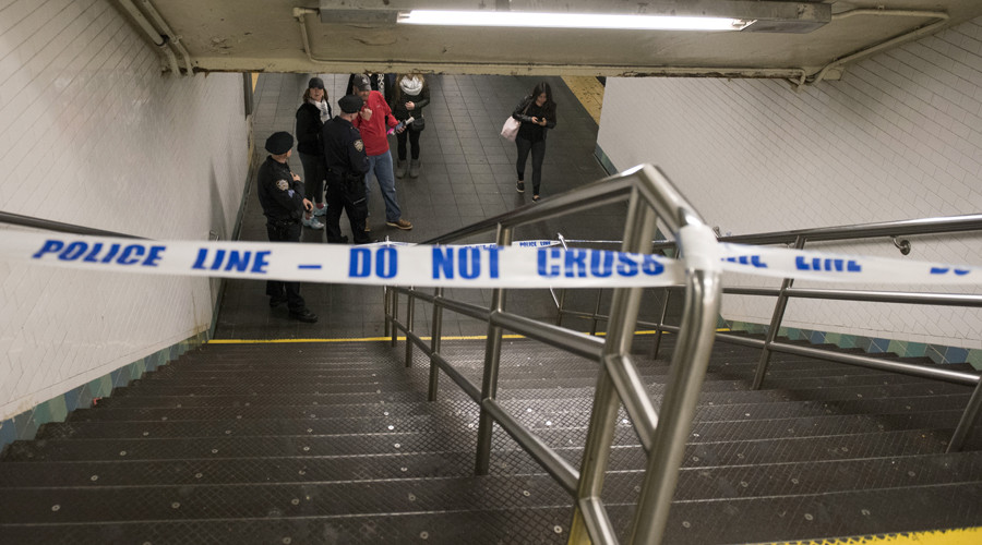 Woman in NYC subway push: I'm not guilty and didn't admit it