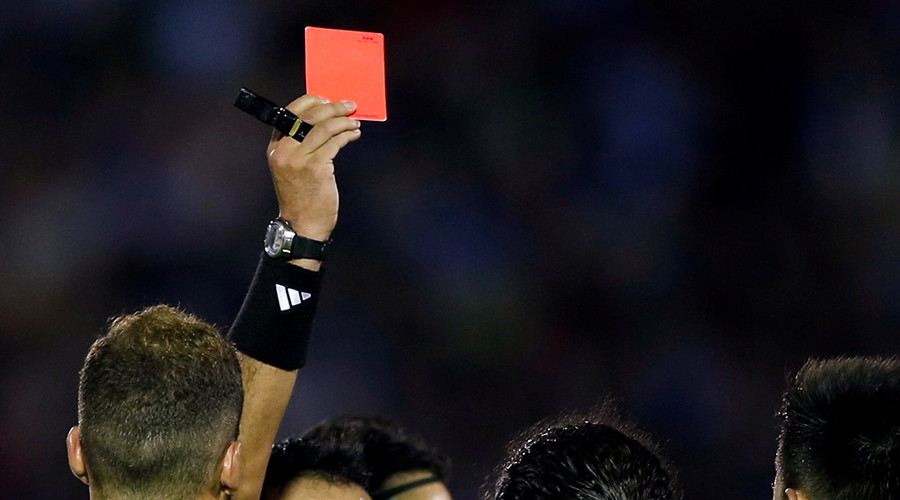 Mexican footballer kills referee after headbutting over red card (DISTURBING PHOTOS)
