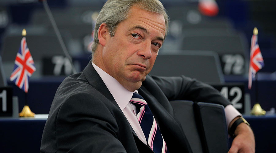 UKIP chief Nigel Farage eyes job in Donald Trump White House