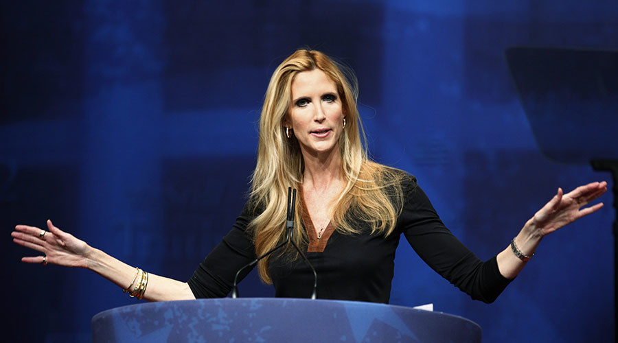Conservative commentator Ann Coulter trolled over Trump 'landslide' claim