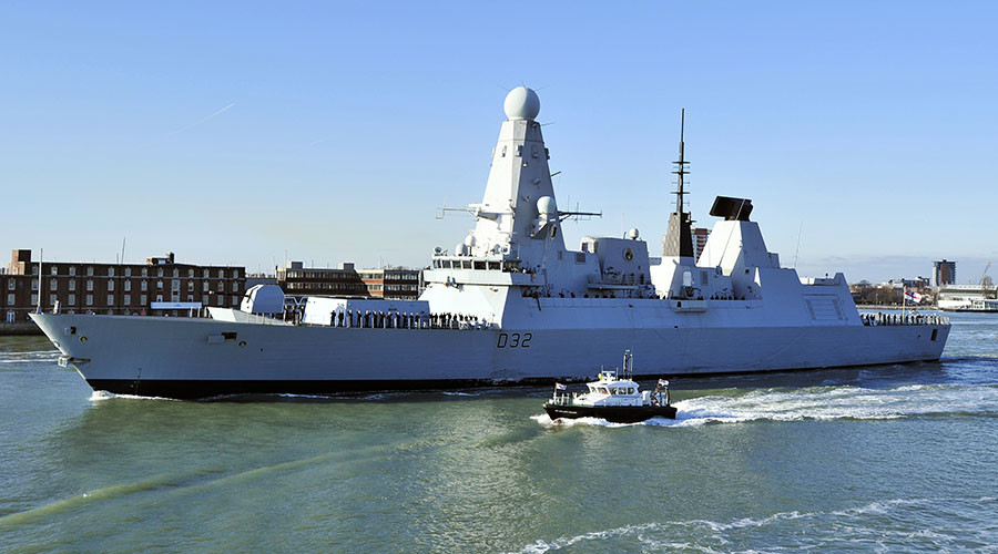 Oil wars? UK's most advanced warship secretly deployed to Yemen coast